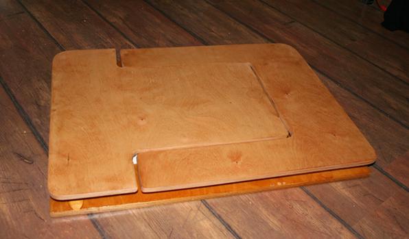 Стол из фанеры раскладной